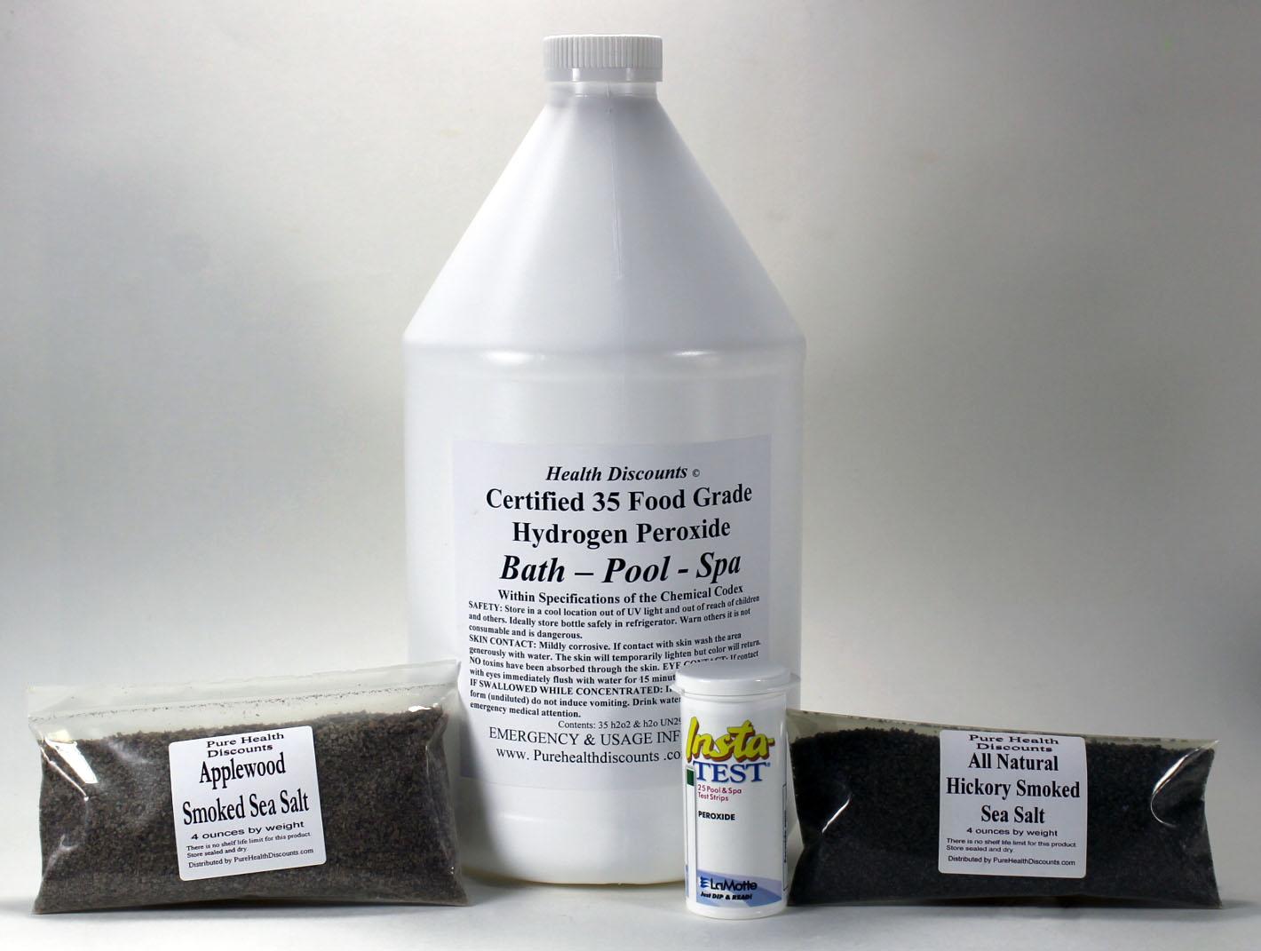Pure Health Discounts 35 Food Grade Hydrogen Peroxide